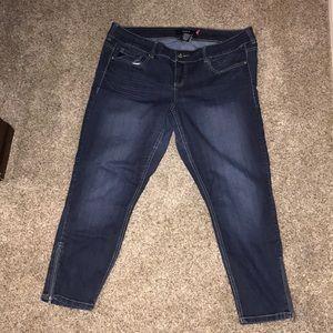 EUC Size 18 Torrid Stiletto Jeans Denim Pants
